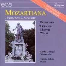 David Geringas,Cello - Mozartiana, CD