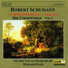 """Robert Schumann (1810-1856): Chorwerke Vol.1 (""""Liederfrühling 1840-1847""""), CD"""