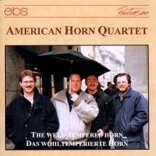 American Horn Quartet - Welltempered Horn, CD