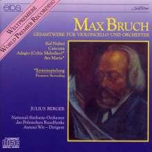 Max Bruch (1838-1920): Die Werke für Cello & Orchester, CD