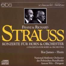 Richard Strauss (1864-1949): Hornkonzerte Nr.1 & 2, CD