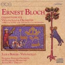 Ernest Bloch (1880-1959): Die Werke f.Cello & Orchester, CD