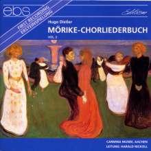 Hugo Distler (1908-1942): Mörike-Chorliederbuch op.19 Vol.2, CD