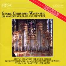 Georg Christoph Wagenseil (1715-1777): Orgelkonzerte Nr.1,2,4-6, CD