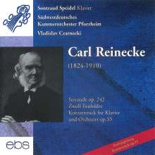 Carl Heinrich Reinecke (1824-1910): Konzertstück op.33 für Klavier & Orchester, CD