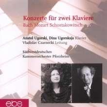 Anatol Ugorski & Dina Ugorskaja - Konzerte für 2 Klaviere, CD