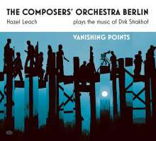 Hazel Leach: Vanishing Points: The Composers Orchestra Plays The Music Of Dirk Strakhof, CD