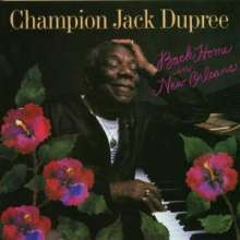 Champion Jack Dupree: Back In New Orleans, CD