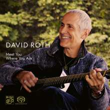 David Roth: Meet You Where You Are, Super Audio CD