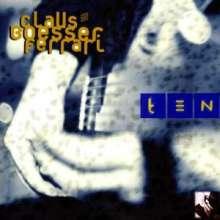 Claus Boesser-Ferrari (geb. 1952): Ten, CD