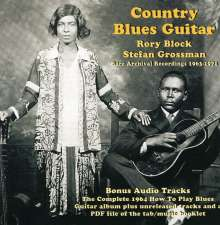 Rory Block & Stefan Grossman: Country Blues Guitar, CD