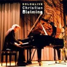 Christian Bleiming: Solo & Live, CD