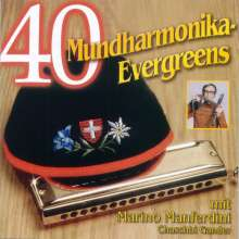 40 Mundharmonika Evergreens, 2 CDs