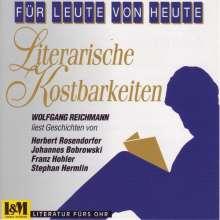 W.Reichmann:Literarische Kostbarkeiten, CD