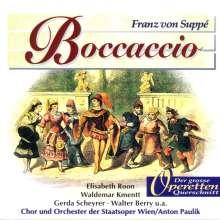 Franz von Suppe (1819-1895): Boccaccio (Az), CD
