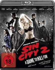 Sin City 2 (Blu-ray), Blu-ray Disc