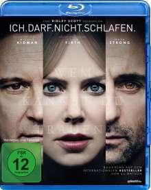 Ich darf nicht schlafen (Blu-ray), Blu-ray Disc