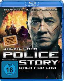 Police Story - Back for Law (Blu-ray), Blu-ray Disc