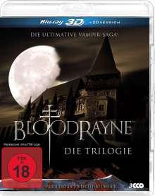 Bloodrayne - Die Triologie (3D Blu-ray), 3 Blu-ray Discs