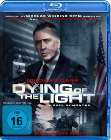 Dying of the Light (Blu-ray), Blu-ray Disc