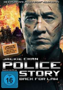 Police Story - Back for Law, DVD