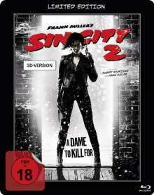 Sin City 2 (3D Blu-ray im Steelbook), Blu-ray Disc