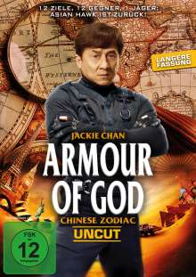 Armour of God (2013), DVD