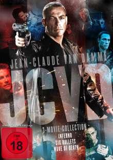 Jean-Claude Van Damme 3-Movie-Collection, 3 DVDs