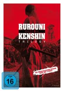 Rurouni Kenshin Trilogy, 3 DVDs