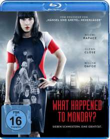 What Happened To Monday? (Blu-ray), Blu-ray Disc