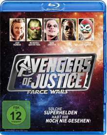 Avengers of Justice - Farce Wars (Blu-ray), Blu-ray Disc
