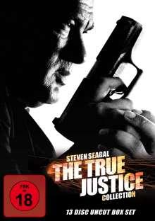 The True Justice Collection, 13 DVDs