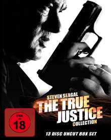 The True Justice Collection (Blu-ray), 13 Blu-ray Discs