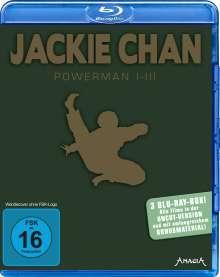 Jackie Chan: Powerman 1-3 (Blu-ray), 3 Blu-ray Discs