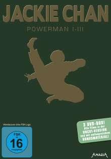 Jackie Chan: Powerman 1-3, 3 DVDs