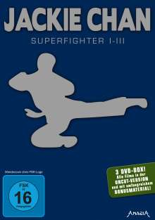 Jackie Chan: Superfighter 1-3, 3 DVDs