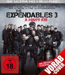 The Expendables 3 (Ultra HD Blu-ray & Blu-ray), 1 Ultra HD Blu-ray und 1 Blu-ray Disc