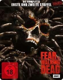 Fear the Walking Dead Staffel 1 & 2 (Blu-ray im Steelbook), 6 Blu-ray Discs