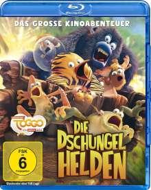 Die Dschungelhelden - Das große Kinoabenteuer (Blu-ray), Blu-ray Disc