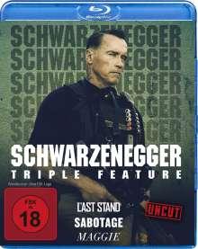 Arnold Schwarzenegger Triple Feature (Blu-ray), 3 Blu-ray Discs