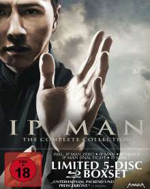 IP Man - The Complete Collection (Blu-ray im Digipack), 5 Blu-ray Discs