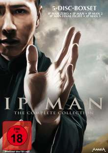 IP Man - The Complete Collection, 5 DVDs