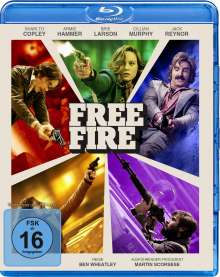 Free Fire (Blu-ray), Blu-ray Disc