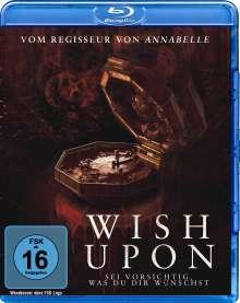 Wish Upon (Blu-ray), Blu-ray Disc