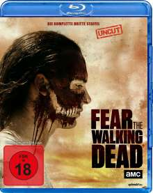 Fear the Walking Dead Staffel 3 (Blu-ray), 4 Blu-ray Discs