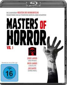Masters of Horror Vol. 1 (Blu-ray), Blu-ray Disc