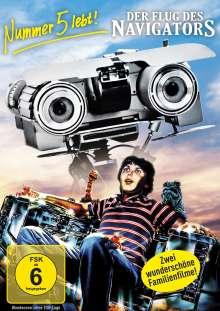 Nummer 5 lebt! / Der Flug des Navigators, 2 DVDs