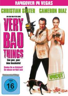 Very Bad Things, DVD