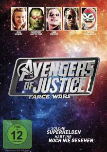 Avengers of Justice - Farce Wars, DVD