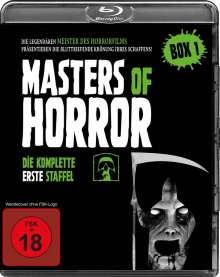 Masters of Horror Staffel 1 (Blu-ray), 4 Blu-ray Discs